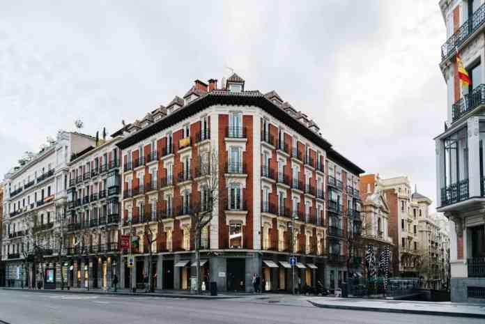 Calle de Serano Caddesi, Madrid, İspanya