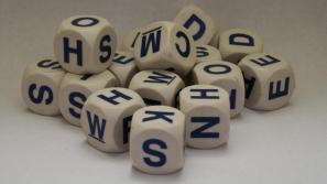 word cubes