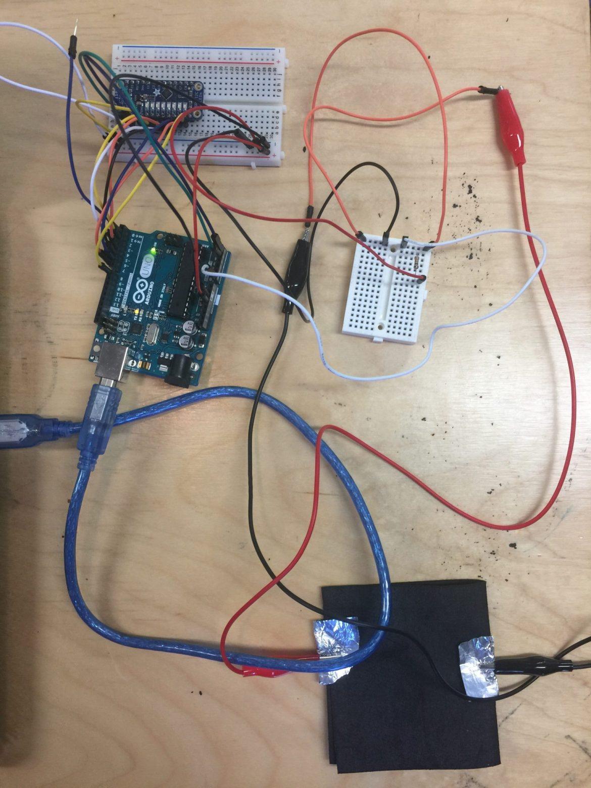 8-pad and sensor