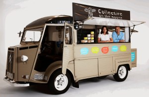 Image of The Collective Dairy van
