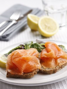 Image of smoked salmon