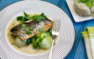 Image for Mirin-Glazed Sea Bass