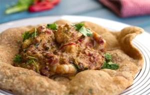 Image of the Prawn Puri recipe