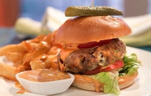 Image of veggie burgers