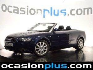 Audi A4 descapotable de segunda mano