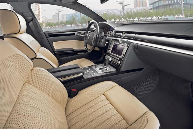 Interior del Volkswagen Phaeton