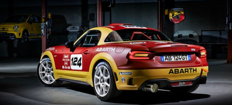 Abarth 124 Rally R-GT