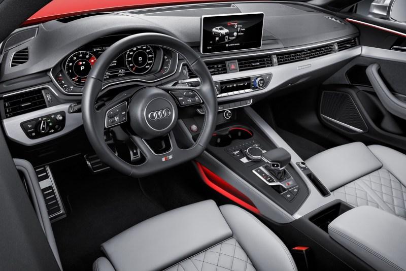 Interior nuevo Audi S5 Coupé