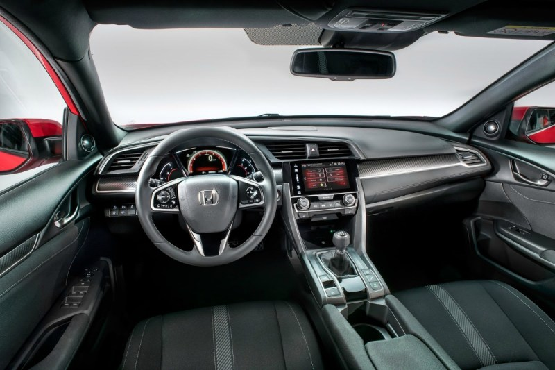 Interior Honda Civic 2017