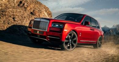 Vista exterior del Rolls-Royce Cullinan