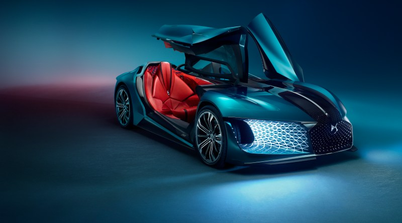 DS X E-Tense, concept car