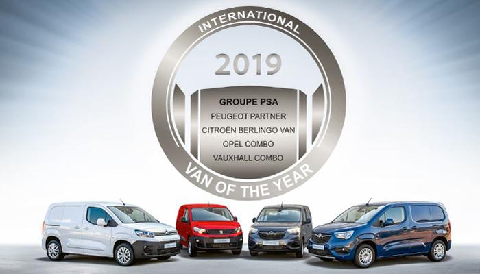 El premio al Vehículo Comercial del Año 2019 ha ido a parar al grupo PSA