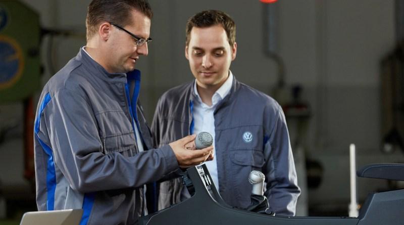Volkswagen está lista para usar impresoras 3D en la fabricación de coches