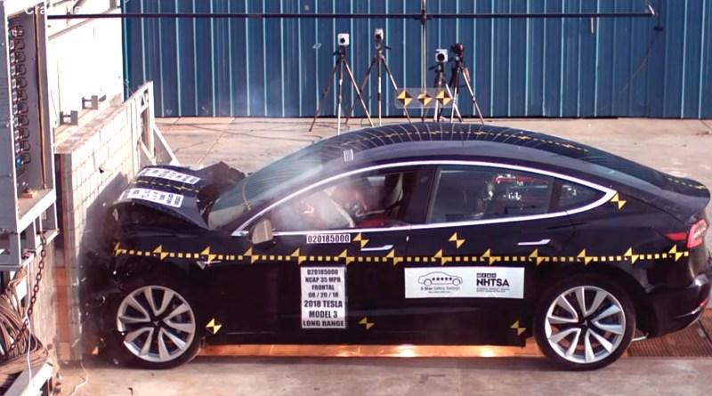 El Tesla Model 3, muy cerca de ser el coche más seguro del mundo
