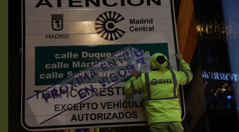 El día a día de los madrileños, más complicado con Madrid Central