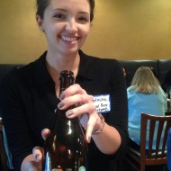 Natasha from Global Beer Network shows off her Piraat