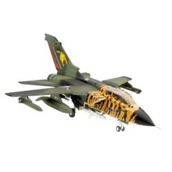 Revell - Avión de Combate Tornado ECR. kit de plástico listo para ensamblar y decorar. Escala 1:144, Ref: 04048.