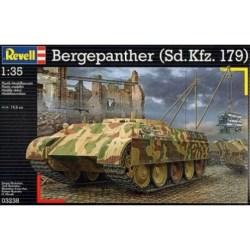 Revell - Carro de combate Bergenpanther ( Sd.Kfz.179 ). kit de plástico listo para ensamblar y decorar. Escala 1:35. Ref: 03238.