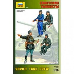 Zvezda - Figuras Soviet tank crew, WWII, Escala 1:35, Ref: 3504