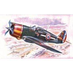Special Hobby - H-75A-1/3 Hawk, in french sevice. Escala 1:32,  Ref: A045