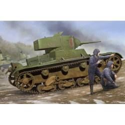 Hobby Boss - Soviet T-26 Light Infantry Tank Mod.1933. Escala 1:35, Ref: 82495