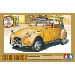 Tamiya - Citroen 2 CV, edición limitada. Escala 1:24, Ref: 25415