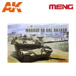 Meng - Israel Main Battle Tank Magach 6B GAL BATASH. Escala 1:35. Ref: ts-040.