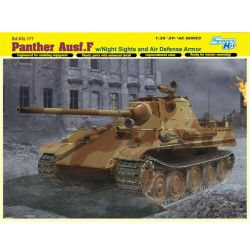 Dragon - Panther Ausf.F w/Night Sight and Air Defense Armor. Escala 1:35. Ref: 6917.