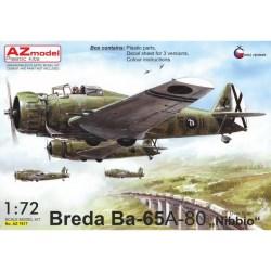 """AZmodel - Breda Ba-65 A-80 """"Nibbio"""". Escala 1:72. Ref: AZ7617."""