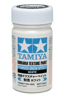 Tamiya - Efecto nieve en polvo, Powder Snow Effect. Ref: 87120.