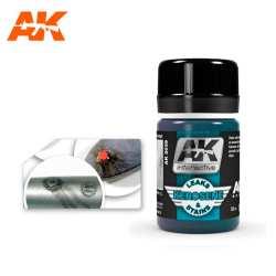 AK Interactive - LAVADO FUGAS Y MANCHAS DE QUEROSENO. Bote de 35 ml. Ref: AK2039.