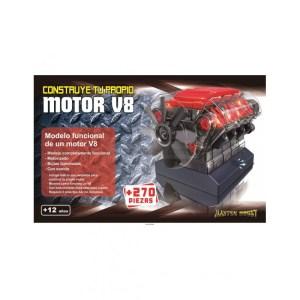Contruye motor V8. 270pz. Marca Master hobby. Ref: MHMOT.