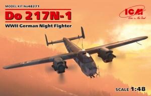 Dornier Do-217 N-1, caza nocturno. Escala 1:48. Marca ICM. Ref: 48271.