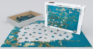 Almendro en Flor. Puzzle Horizontal, 1000 pz. Marca Eurographics. Ref: 6000-0153.