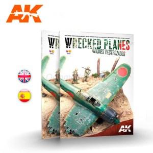WRECKED PLANES, Aviones Destrozados. Marca AK Interactive. Ref: AK918.