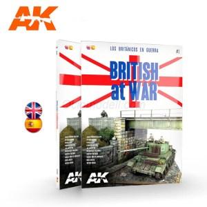 BRITISH AT WAR – LOS BRITÁNICOS EN GUERRA, Bilingüe Inglés / Español. Marca AK Interactive. Ref: AK130001.