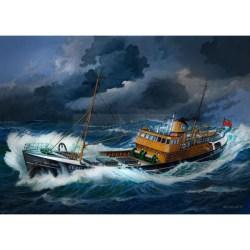 Northsea Fishing Trawler (Civil Ships). Escala: 1:142. Marca: Revell. Ref: 05204.