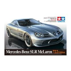 "Mercedes-Benz SLR McLaren ""722 Edition"". Escala 1:24. MarcaTamiya. Ref: 24317."