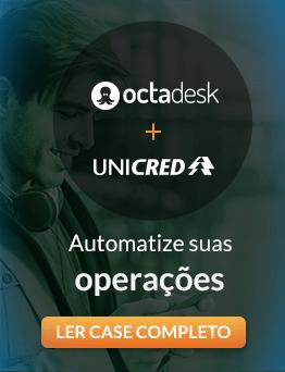 Case de sucesso: Octadesk + Unicred