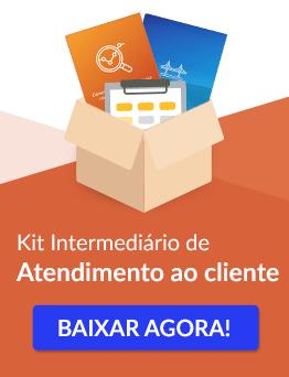 Kit intermediário de atendimento ao cliente