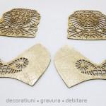 Piele decupata laser pentru confectionat accesorii vestimentare