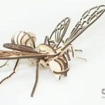Albina confectionata prin decupare laser