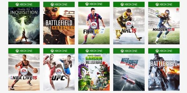 Juega A 14 Ttulos De EA Access Gratis Durante Una Semana Para Xbox One