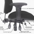 Office Chair Adjustments (levers)
