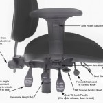 5 Common Office Chair Adjustments - Each Lever Explained