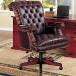 Leather Office Furniture: Add Distinction to Your Work Place