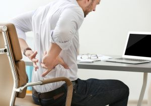 Uncomfortable office chairs cause office syndrome