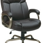 Great Seats: Eco Leather Executive Chair for Big & Tall People by Office Star