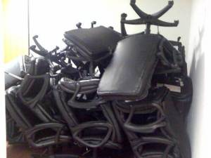 broken office chairs