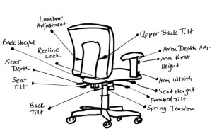 Office Chair Adjustments